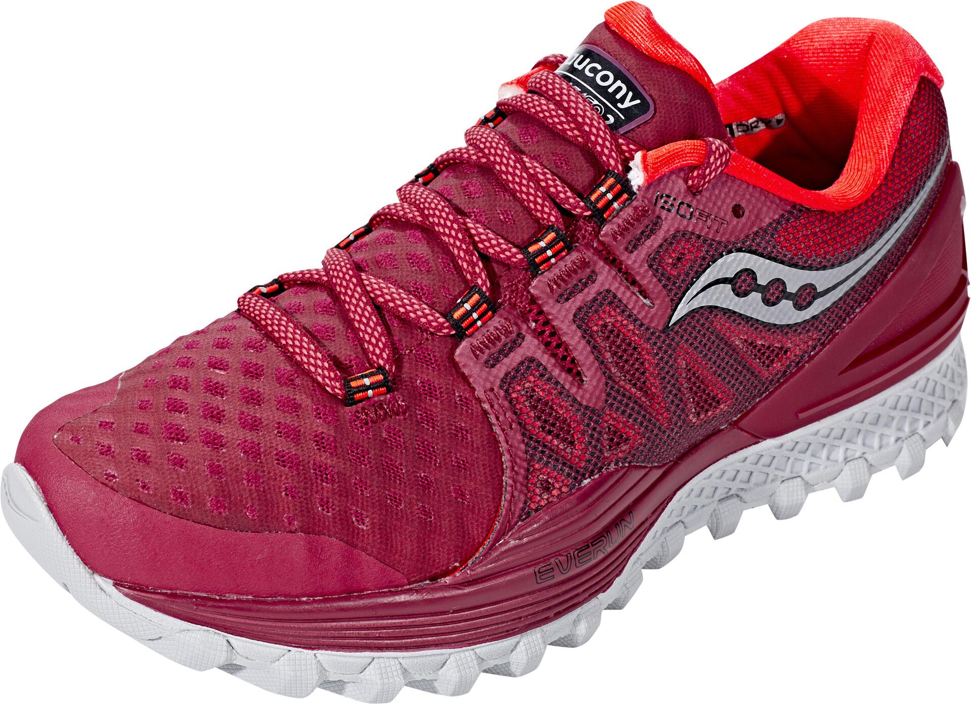 Xodus 2 Zapatillas Mujer Running Rojo Saucony Iso 45RjA3Lq